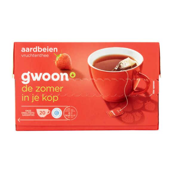 g'woon Vruchtenthee aardbei product photo