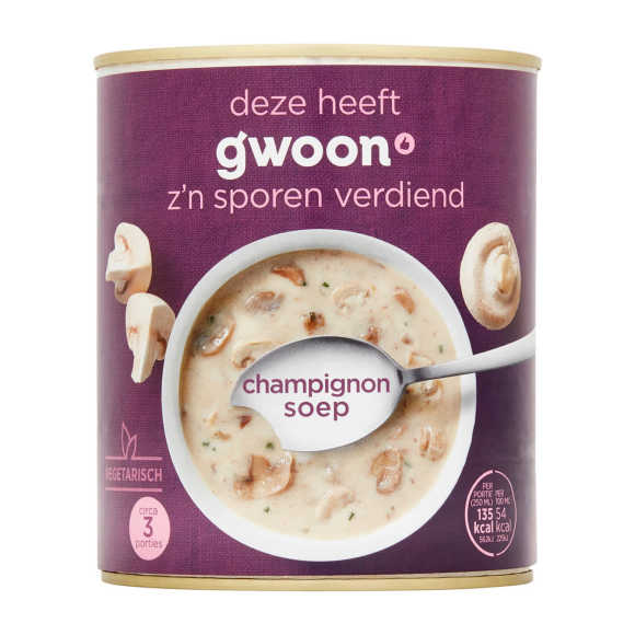 g'woon Soep champignon product photo