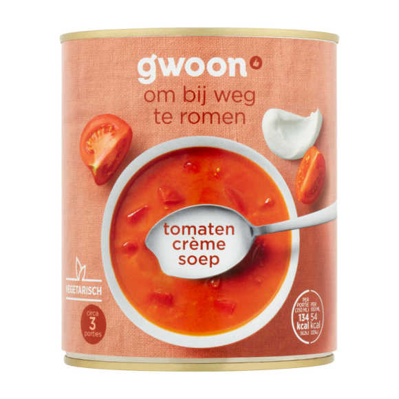g'woon Tomaten cremesoep product photo