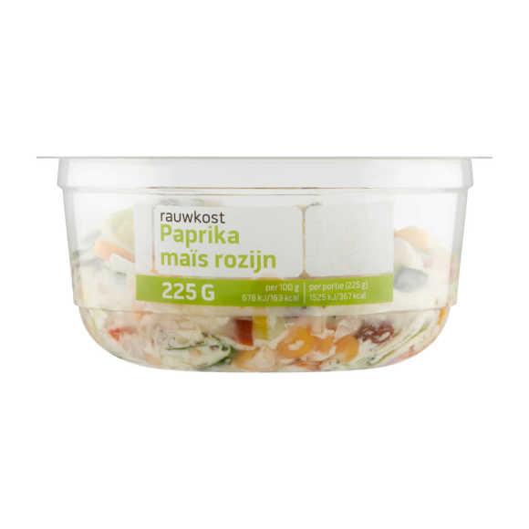 Rauwkost salade paprika mais product photo