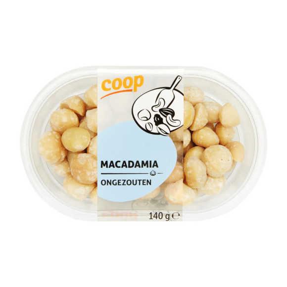 Macadamia ongezouten product photo