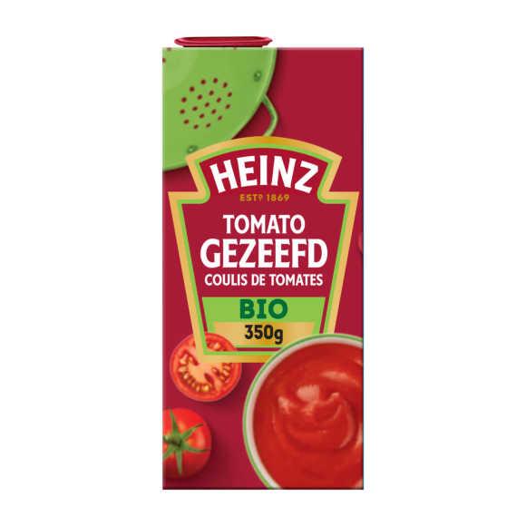 Heinz Tomato gezeefd biologisch product photo