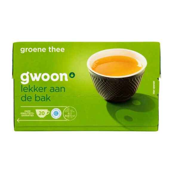 g'woon Groene thee product photo