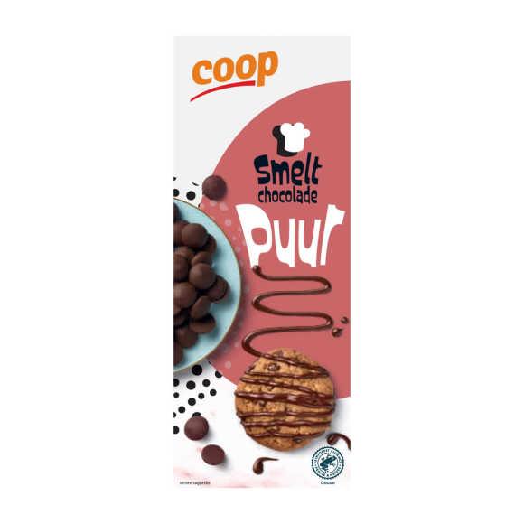 Smeltchocolade puur product photo