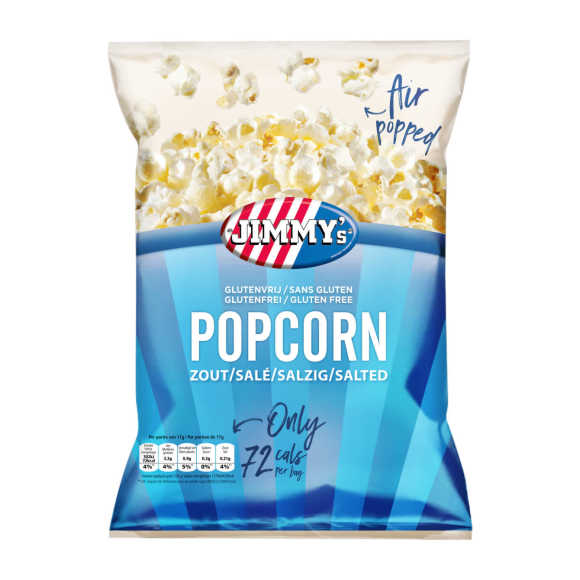 Jimmy's Popcorn salted portie product photo