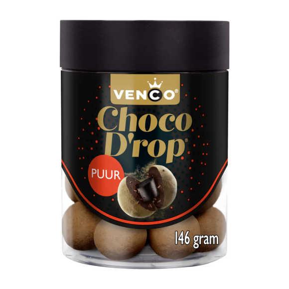 Venco Choco drop puur product photo