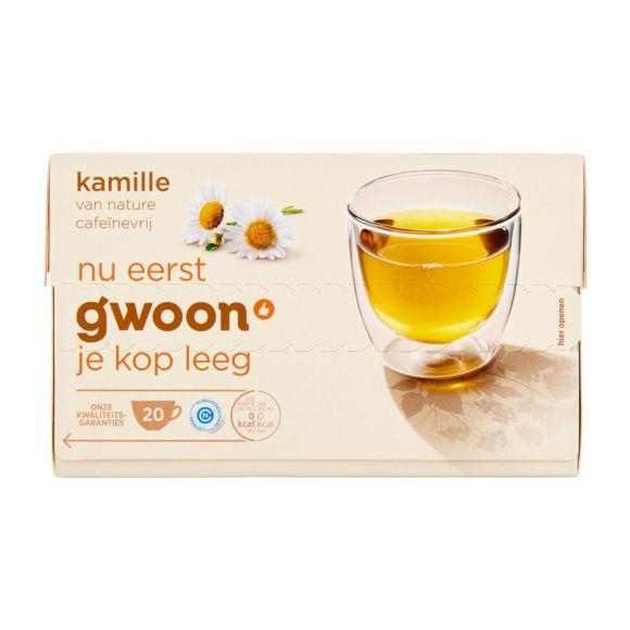g'woon Kamillethee aardbei product photo