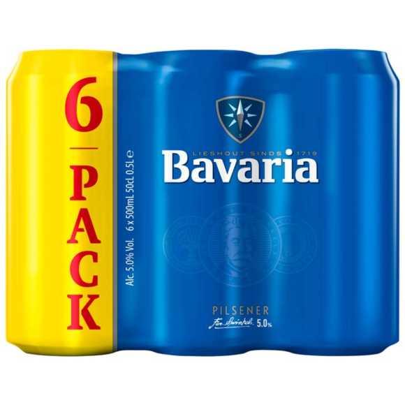 Bavaria bier blik product photo