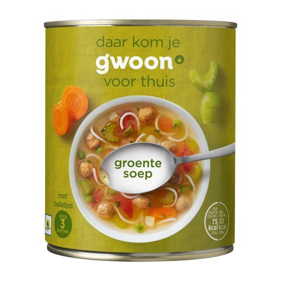 g'woon Beter leven groentesoep product photo