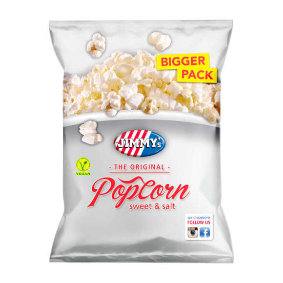 Jimmy's Popcorn sweet & salt product photo