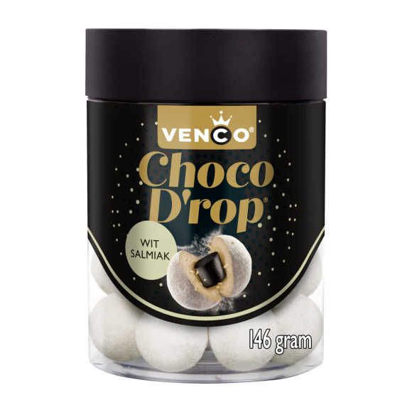 Venco Choco drop wit salmiak product photo