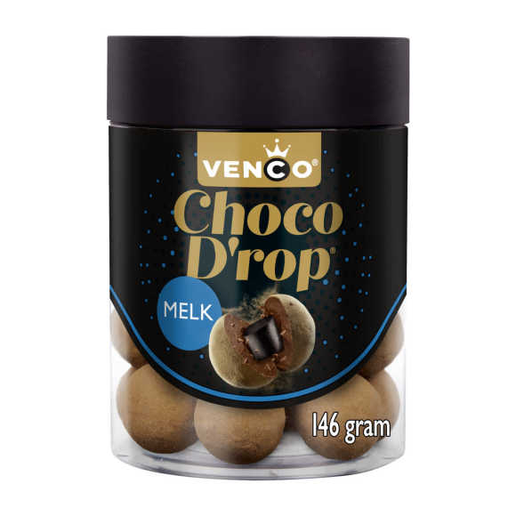 Venco Choco drop melk product photo