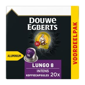 Douwe Egberts Lungo intens koffiecups product photo