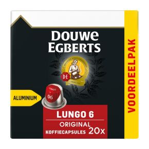Douwe Egberts Lungo original koffiecups product photo