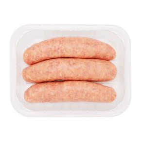 Varkenssaucijs fijn 3 stuks product photo