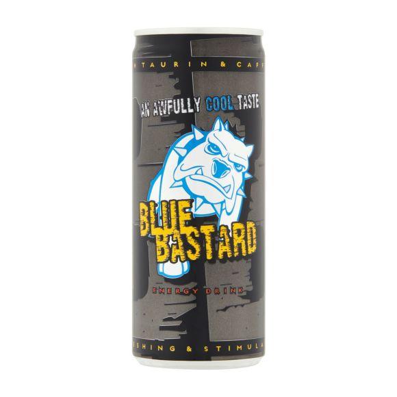 Blue Bastard Energy drink blik product photo