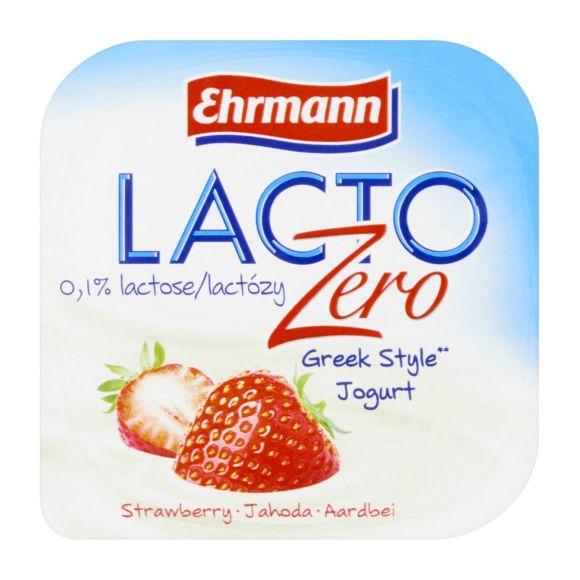 Ehrmann Lacto zero yoghurt Griekse stijl - diverse smaken product photo