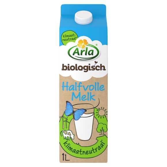 Arla Biologische halfvolle melk product photo