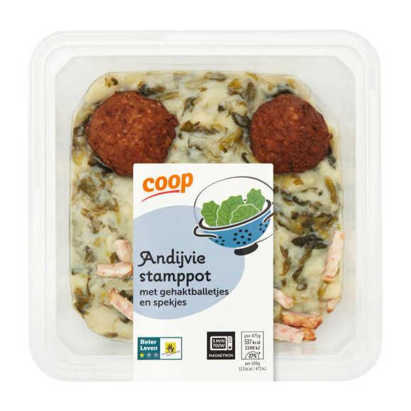 Top! van Coop Andijvie stamppot product photo