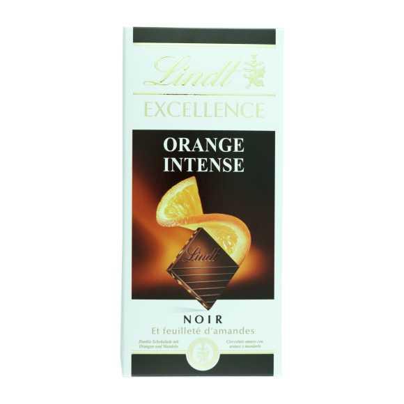 Lindt Excellence puur orange intense product photo