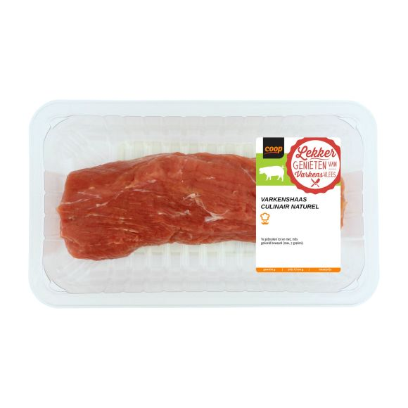 Varkenshaas culinair naturel product photo