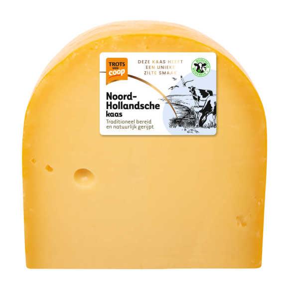 Trots van Coop Noord-Hollandsche belegen 35+ kaas stuk product photo