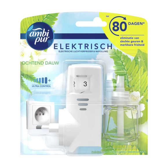 Ambi Pur ochtend dauw elektrische luchtverfrisser startset product photo