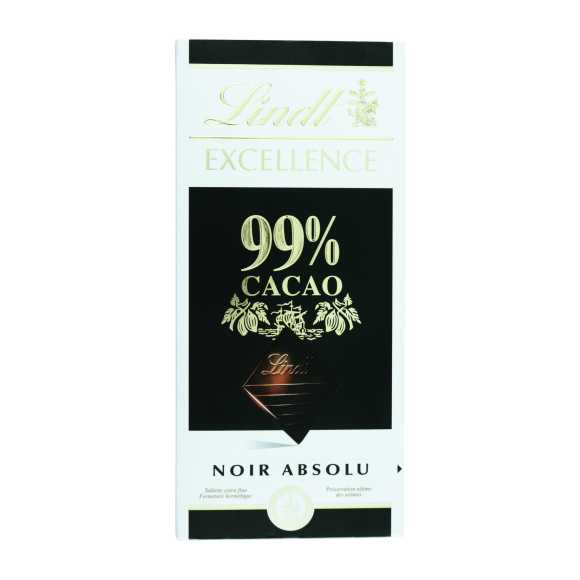Lindt Excellence puur 99% cacao product photo