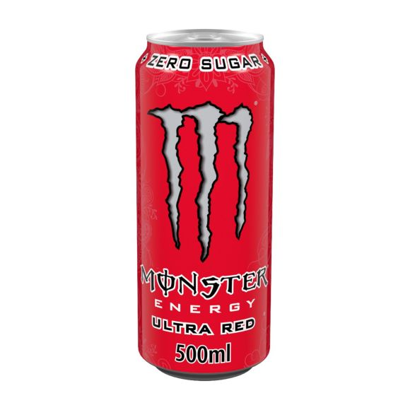 Monster Energy Ultra red product photo