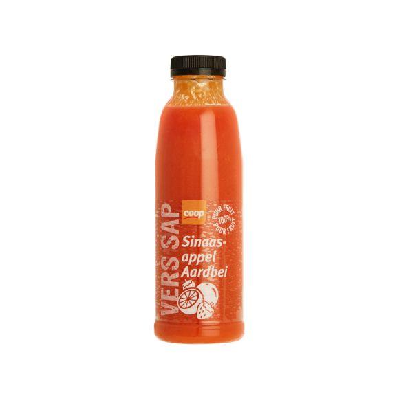 Coop vers sap sinaasappel aardbei product photo