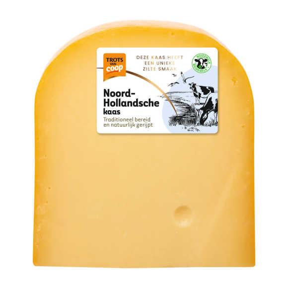 Trots van Coop Noord-Hollandsche romig jong 35+ kaas stuk product photo