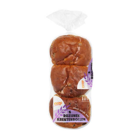 Rozijnen krentenbollen product photo