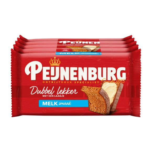 Peijnenburg Ontbijtkoek dubbel lekker melk product photo
