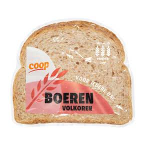 Boeren volkorenbrood half product photo