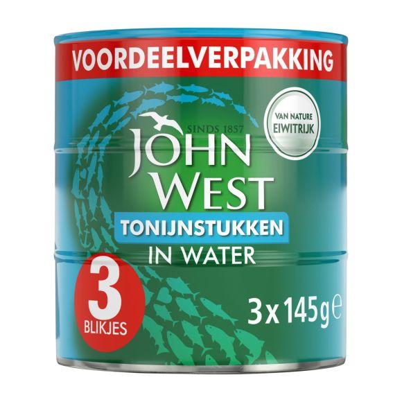 John West Tonijnstukken in water product photo