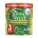 John West Tonijnstukken in zonnebloemolie product photo