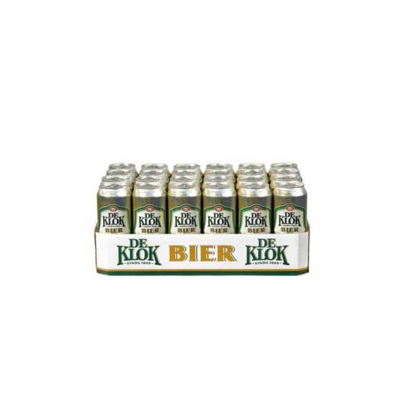 De Klok Bier blik 24 x 50 cl product photo