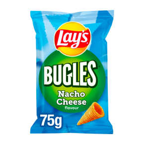 Lay's Bugles nacho cheese chips product photo