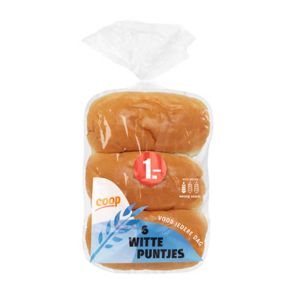 Witte puntjes product photo