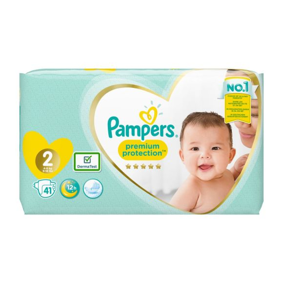 Pampers Premium Protection luiers maat 2, 4kg-8kg product photo