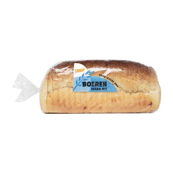 Boeren wit sesambrood heel product photo