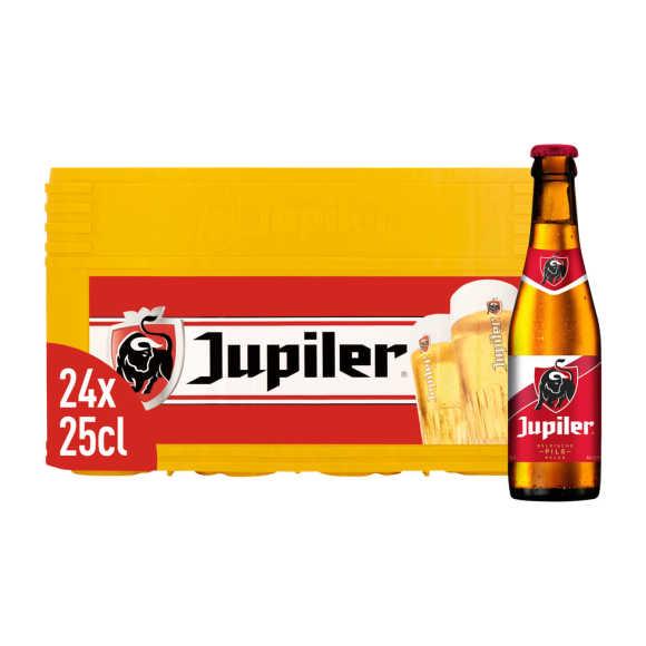 Jupiler Bier krat 24 x 25 cl product photo