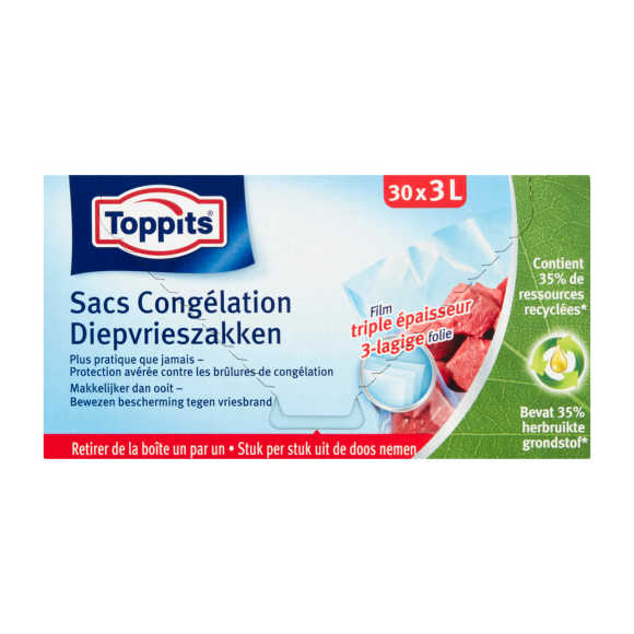 Toppits Diepvrieszak 3 liter product photo