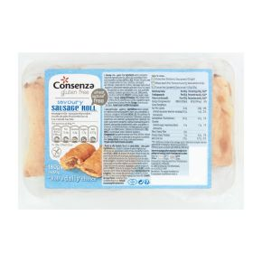 Consenza Gluten Free Saucijzenbroodjes 3 x 60 g product photo