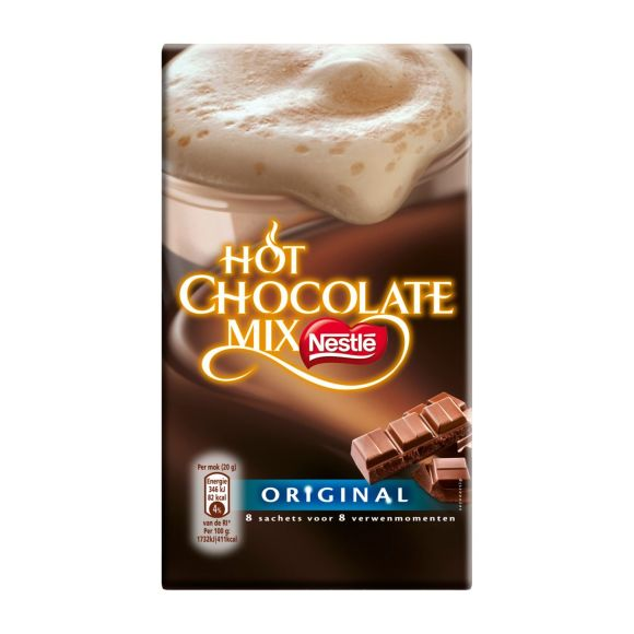 Nestlé Hot chocolate mix original product photo