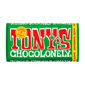 Tony's Chocolonely melk hazelnoot product photo