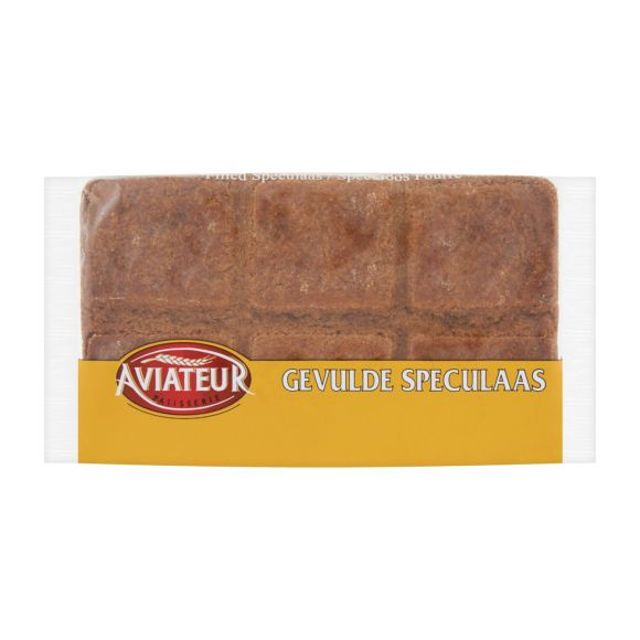 Aviateur Gevulde speculaas dicht product photo