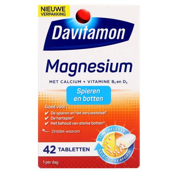 Magnesium tabletten voor spieren en botten, 42 stuks product photo