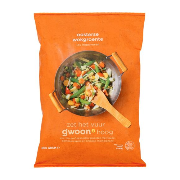 g'woon Oosterse wokgroente product photo