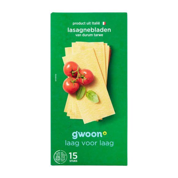 g'woon Lasagnebladen naturel product photo